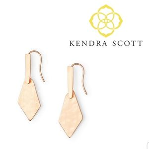 ■Kendra Scott■ Gianna Rose Gold Earrings